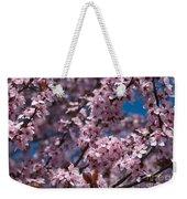Plum Tree Flowers Weekender Tote Bag