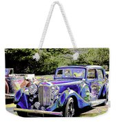 Psychedelic Classic Lagonda Weekender Tote Bag
