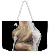Right Knee Ligaments Weekender Tote Bag