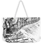 Roosevelt Cartoon, 1906 Weekender Tote Bag