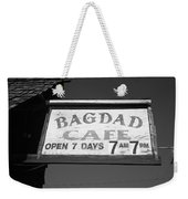 Route 66 - Bagdad Cafe Weekender Tote Bag by Frank Romeo