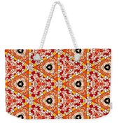 Seamlessly Tiled Kaleidoscopic Mosaic Pattern Weekender Tote Bag