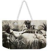 Sleeping Woman, C1900 Weekender Tote Bag