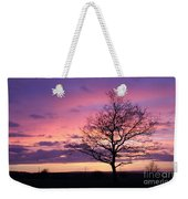 Spectacular Sunset Epsom Downs Surrey Uk Weekender Tote Bag