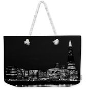 The Shard And Southbank London Weekender Tote Bag