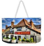 The Woodman Pub Weekender Tote Bag