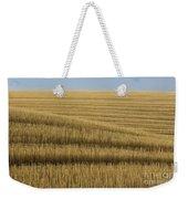 Tracks In Field Weekender Tote Bag
