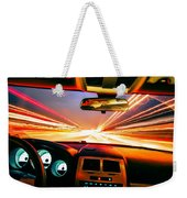 Traveling At Speed Of Light Weekender Tote Bag