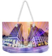 Tulsa City Skyline Around Downtown Streets Weekender Tote Bag