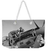 Tuskegee Airmen, 1945 Weekender Tote Bag
