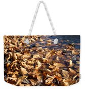 Ussurian Taiga Autumn Weekender Tote Bag by Anonymous