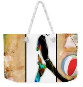 Walking Out Of Picture Frame Weekender Tote Bag