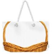 Wicker Basket Number Seven Weekender Tote Bag