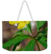 Yellow Wood Anemone Weekender Tote Bag
