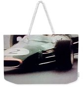 60's Era Formula 1 Race Weekender Tote Bag