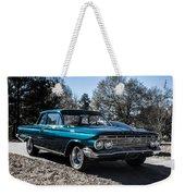 61 Chevrolet Biscayne Weekender Tote Bag