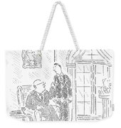 Giving Something Back To The Community Is A Fine Weekender Tote Bag