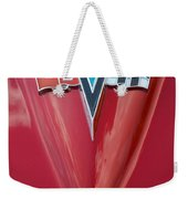 63 Corvette Emblem Weekender Tote Bag