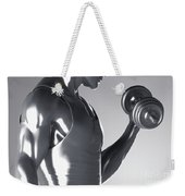 Exercise Workout Weekender Tote Bag
