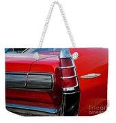63 Pontiac Bonneville Weekender Tote Bag