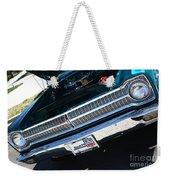 65 Plymouth Satellite Grill-8481 Weekender Tote Bag