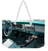 65 Plymouth Satellite Interior-8499 Weekender Tote Bag