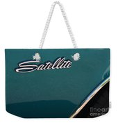 65 Plymouth Satellite Logo-8503 Weekender Tote Bag