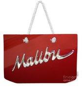 67 Malibu Chevelle Logo -0058 Weekender Tote Bag