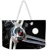 67 Malibu Chevelle Steering Wheel-0055 Weekender Tote Bag