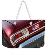 67 Malibu Chevelle Tail Light-0060 Weekender Tote Bag