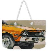68 Chevelle Abstract Weekender Tote Bag