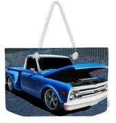 '68 Chevy Stepside Weekender Tote Bag