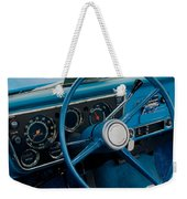 68 Chevy Truck Dash Weekender Tote Bag