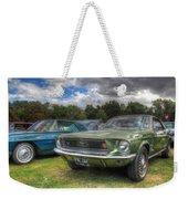68' Mustang Weekender Tote Bag