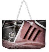 1966 Ferrari 275 Gtb Steering Wheel Emblem Weekender Tote Bag by Jill Reger