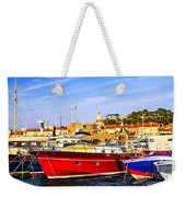 Boats At St.tropez Weekender Tote Bag