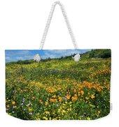 California Poppies Eschscholzia Weekender Tote Bag