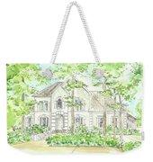 Custom House Portrait  Or Rendering Sample Weekender Tote Bag