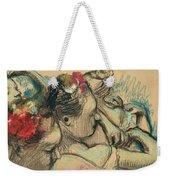 Dancers Weekender Tote Bag by Edgar Degas