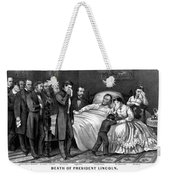 Death Of Lincoln, 1865 Weekender Tote Bag