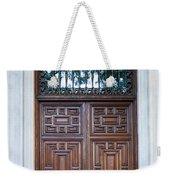 Distinctive Doors In Madrid Spain Weekender Tote Bag
