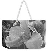 Dwarf Canna Lily Named Corsica Weekender Tote Bag