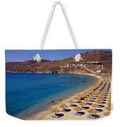 Elia Beach Weekender Tote Bag