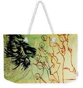 Five Wise Virgins  Weekender Tote Bag by Gloria Ssali