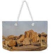 Hampi Landscape Weekender Tote Bag