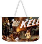 Harry Keller, American Magician Weekender Tote Bag by Photo Researchers