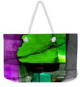 Illinois Map Watercolor Weekender Tote Bag