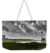 Southern Tall Marsh Grass Weekender Tote Bag