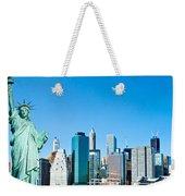 Manhattan - New York City Weekender Tote Bag