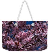 Plum Tree Flowers Weekender Tote Bag